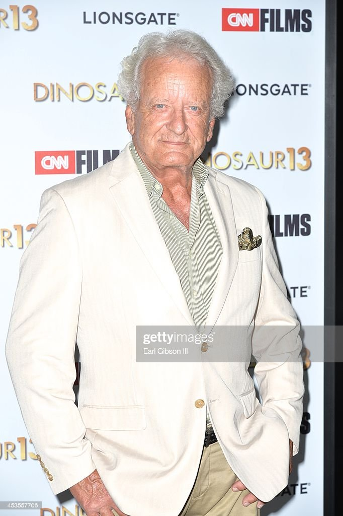 Actor Nicolas Coster attends the premiere of Lionsgate and CNN Film 'Dinosaur 13' at DGA Theater on August 12, 2014 in Los Angeles, California.