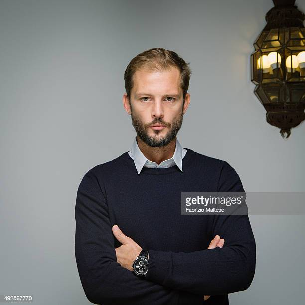Actor Nicolas Duvauchelle is photographed for The Hollywood Reporter on September 5 2015 in Venice Italy