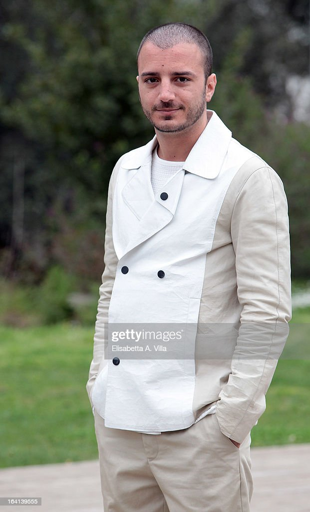 Actor Nicolas Vaporidis attends 'Outing Fidanzati Per Sbaglio' photocall at Casa del Cinema on March 20, 2013 in Rome, Italy.