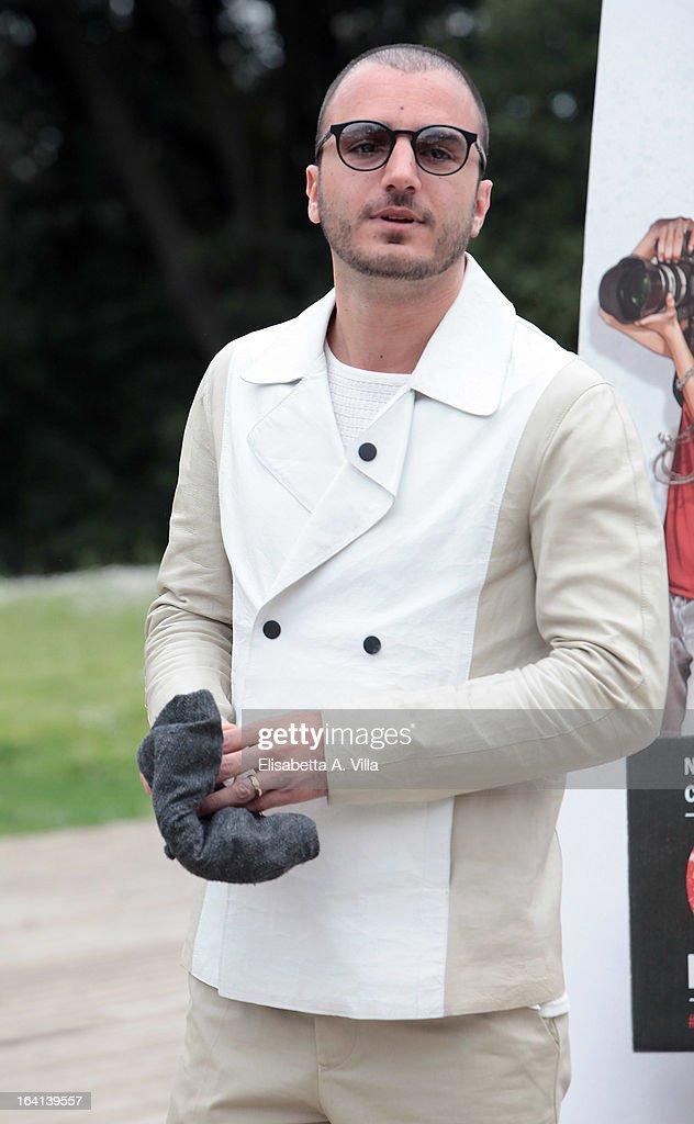 Actor Nicolas Vaporidis attends 'Outing Fidanzati Per Sbaglio' photocall at Casa del Cinema on March 20, 2013 in Rome, Italy.