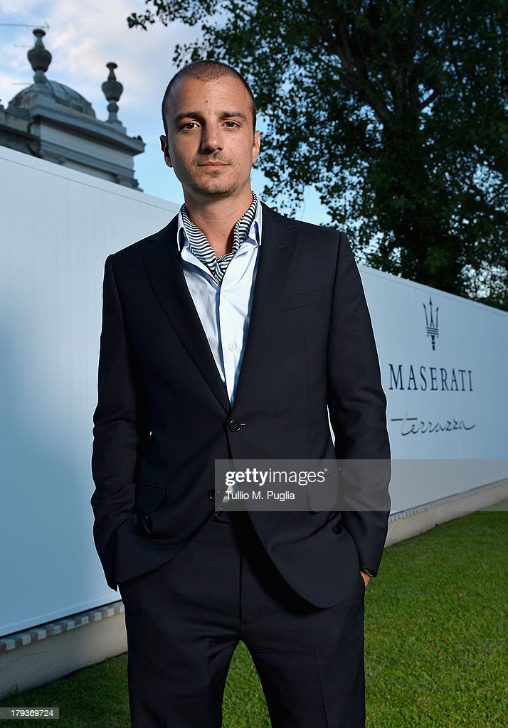 Actor Nicolas Vaporidis attends the 70th Venice International Film Festival at Terrazza Maserati on September 2, 2013 in Venice, Italy.