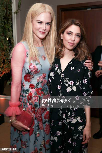 Actor Nicole Kidman and director Sofia Coppola attend the after party for the premiere of Focus Features' 'The Beguiled' at Sunset Tower Hotel on...