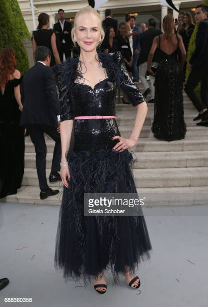 Actor Nicole Kidman arrives at the amfAR Gala Cannes 2017 at Hotel du CapEdenRoc on May 25 2017 in Cap d'Antibes France