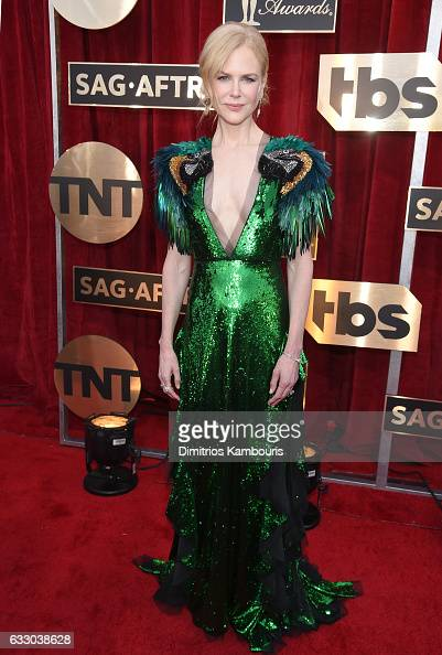 Actor Nicole Kidman attends The 23rd Annual Screen Actors Guild Awards at The Shrine Auditorium on January 29 2017 in Los Angeles California 26592_009