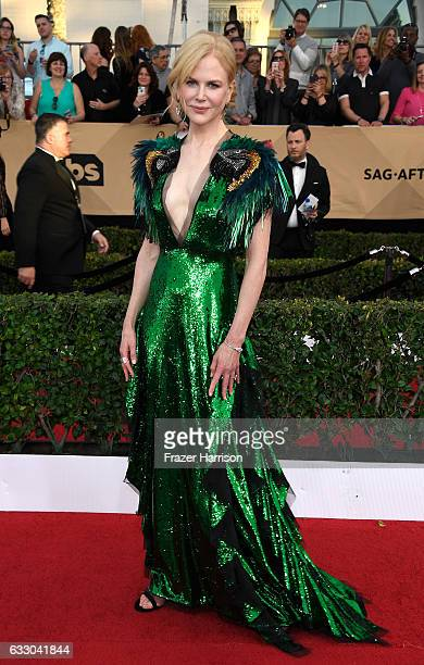 Actor Nicole Kidman attends The 23rd Annual Screen Actors Guild Awards at The Shrine Auditorium on January 29 2017 in Los Angeles California 26592_008