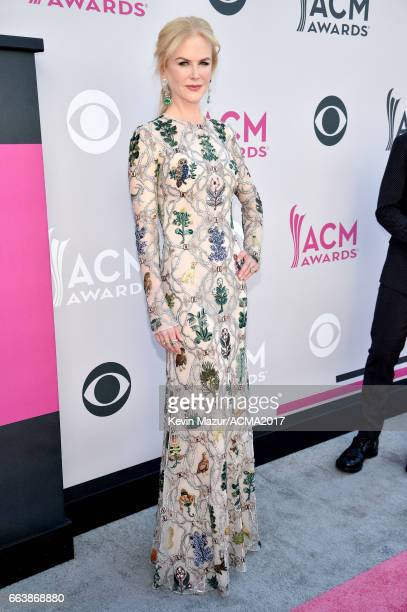 Actor Nicole Kidman attends the 52nd Academy Of Country Music Awards at Toshiba Plaza on April 2 2017 in Las Vegas Nevada