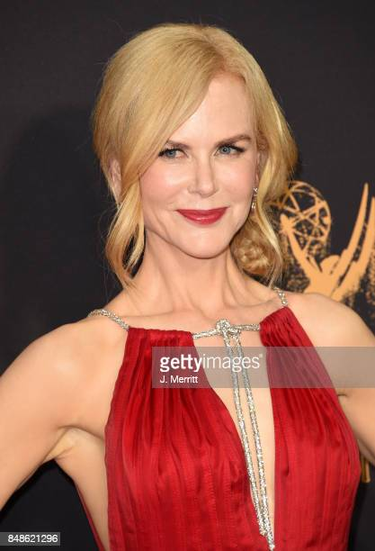 Actor Nicole Kidman attends the 69th Annual Primetime Emmy Awards at Microsoft Theater on September 17 2017 in Los Angeles California