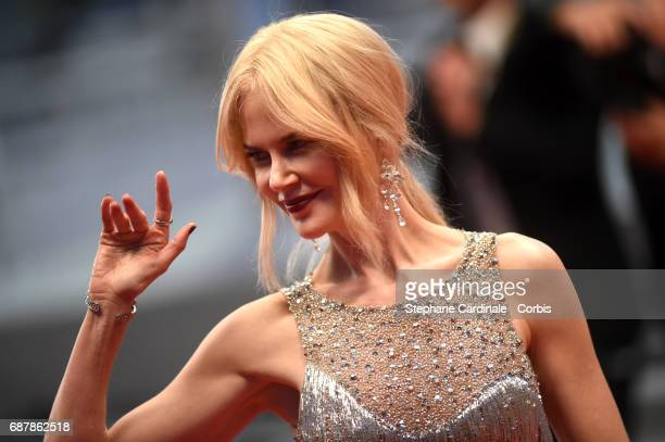 Actor Nicole Kidman attends 'The Beguiled' premiere during the 70th annual Cannes Film Festival at Palais des Festivals on May 24 2017 in Cannes...