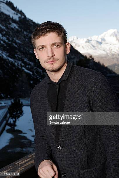 Actor Niels Schneider attends Les Arcs European Film Festival on December 14 2016 in Les Arcs France