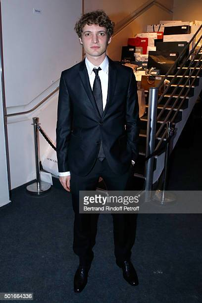 Actor Niels Schneider attends the Annual Charity Dinner hosted by the AEM Association Children of the World for Rwanda Held at Espace Cardin on...