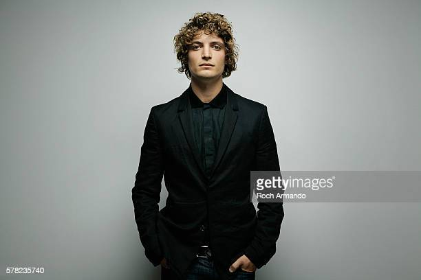 Actor Niels Schneider is photographed for Self Assignment on June 21 2012 in Cabourg France