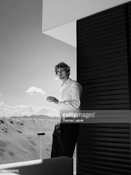 Actor Niels Schneider is photographed for Self Assignment on May 17 2013 in Cannes France