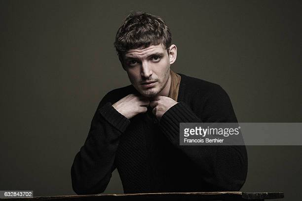 Actor Niels Schneider is photographed for Self Assignment on November 10 2016 in Paris France