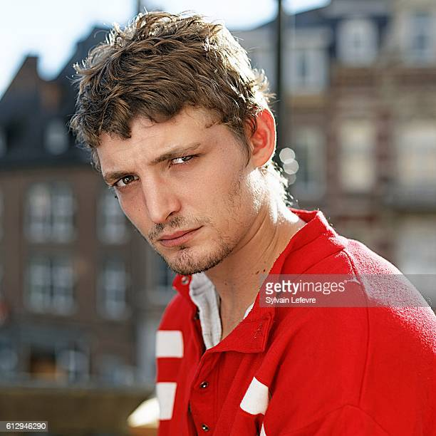 Actor Niels Schneider is photographed for Self Assignment on October 3 2016 in Namur Belgium