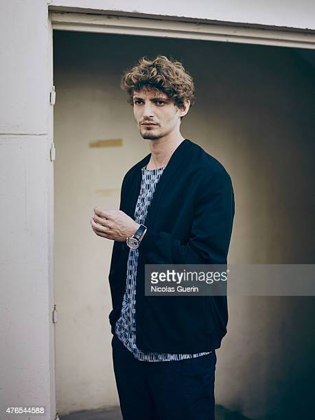 Actor Niels Schneider is photographed on May 17 2015 in Cannes France