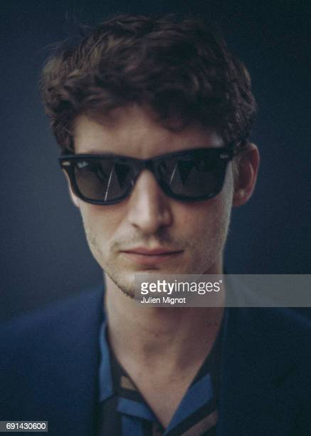 Actor Niels Schneider is photographed on May 18 2017 in Cannes France