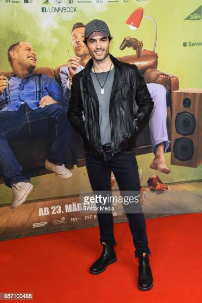 Actor Nik Xhelilaj during the premiere of the film 'Lommbock' at CineStar on March 23 2017 in Berlin Germany
