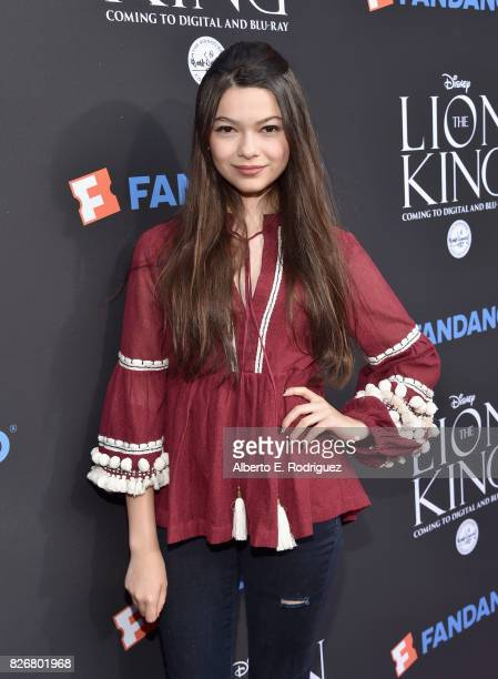 Actor Nikki Hahn at The Lion King SingAlong at The Greek Theatre in Los Angeles in celebration of the inhome release hosted by Walt Disney Studios...