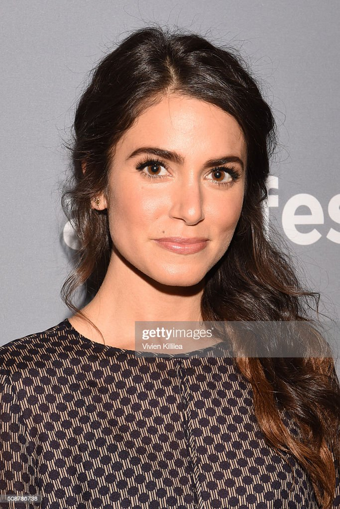 Actor Nikki Reed attends the 'Sleepy Hollow' event during aTVfest 2016 presented by SCAD on February 6 2016 in Atlanta Georgia