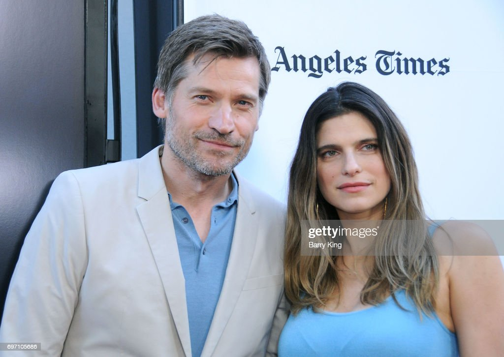 Actor Nikolaj Coster Waldau and actress Lake Bell attend the 2017 Los Angeles Film Festival - Gala Screening Of 'Shot Caller' at Arclight Cinemas Culver City on June 17, 2017 in Culver City, California.