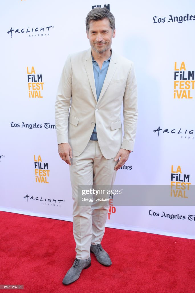 Actor Nikolaj Coster-Waldau arrives at the 2017 Los Angeles Film Festival - Gala Screening Of 'Shot Caller' at Arclight Cinemas Culver City on June 17, 2017 in Culver City, California.