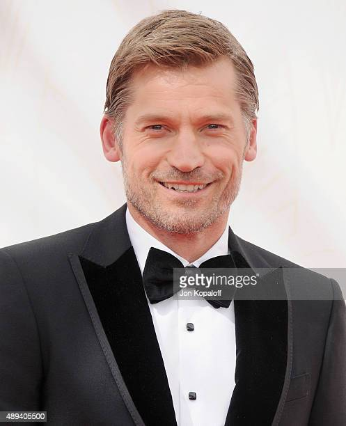 Actor Nikolaj CosterWaldau arrives at the 67th Annual Primetime Emmy Awards at Microsoft Theater on September 20 2015 in Los Angeles California