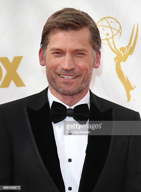 Actor Nikolaj CosterWaldau arrives at the 67th Annual Primetime Emmy Awards at the Microsoft Theater on September 20 2015 in Los Angeles California