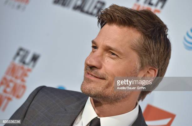 Actor Nikolaj CosterWaldau arrives at the premiere of 'Shot Caller' at The Theatre at Ace Hotel on August 15 2017 in Los Angeles California