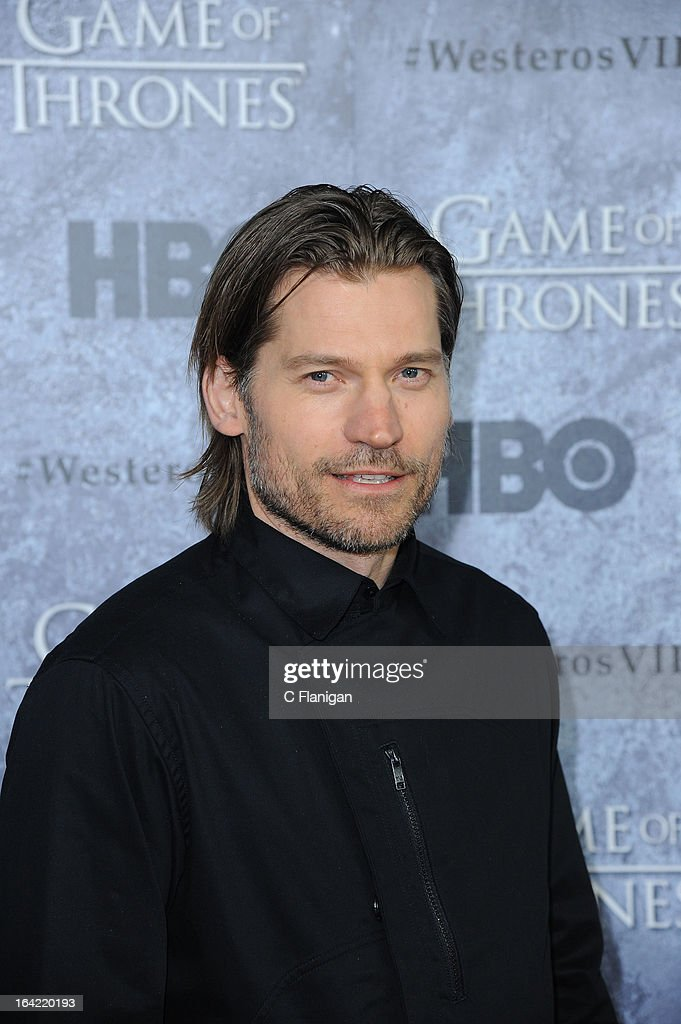 Actor Nikolaj Coster-Waldau arrives at the San Francisco Premiere For HBO's 'Game Of Thrones' Season 3 at Palace Of Fine Arts Theater on March 20, 2013 in San Francisco, California.