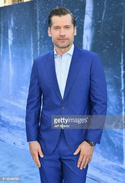 Actor Nikolaj CosterWaldau at the Los Angeles Premiere for the seventh season of HBO's 'Game Of Thrones' at Walt Disney Concert Hall on July 12 2017...