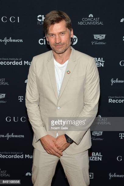 Actor Nikolaj CosterWaldau attends Global Citizen Live at NYU Skirball Center on September 18 2017 in New York City