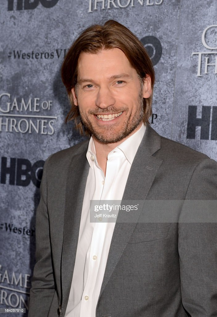 Actor Nikolaj Coster-Waldau attends HBO's 'Game Of Thrones' Season 3 Seattle Premiere on March 21, 2013 in Seattle, Washington.