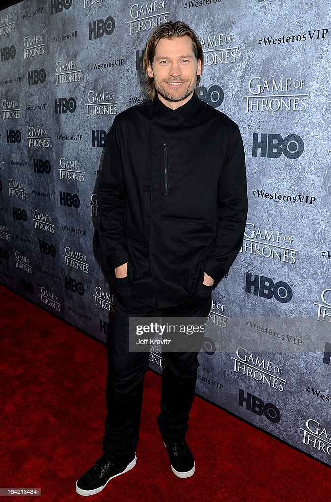 Actor Nikolaj Coster-Waldau attends HBO's 'Game Of Thrones' Season 3 San Francisco Premiere on March 20, 2013 in San Francisco, California.