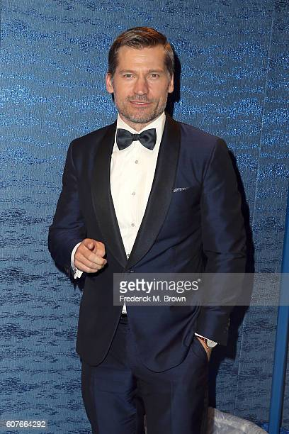 Actor Nikolaj CosterWaldau attends HBO's Official 2016 Emmy After Party at The Plaza at the Pacific Design Center on September 18 2016 in Los Angeles...