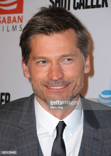 Actor Nikolaj CosterWaldau attends screening of Saban Films and DIRECTV's' 'Shot Caller' at The Theatre at Ace Hotel on August 15 2017 in Los Angeles...