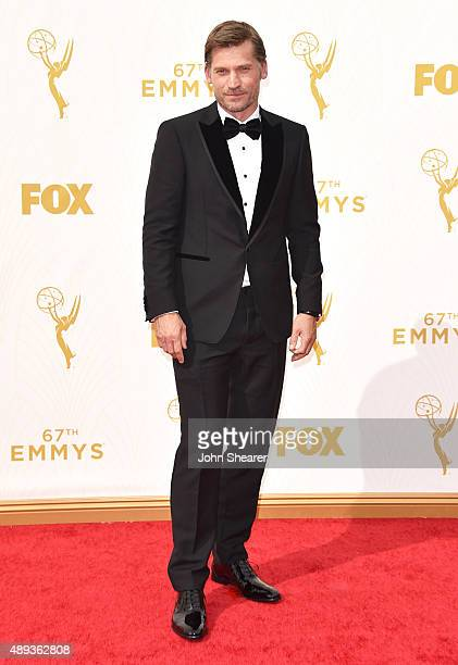 Actor Nikolaj CosterWaldau attends the 67th Annual Primetime Emmy Awards at Microsoft Theater on September 20 2015 in Los Angeles California
