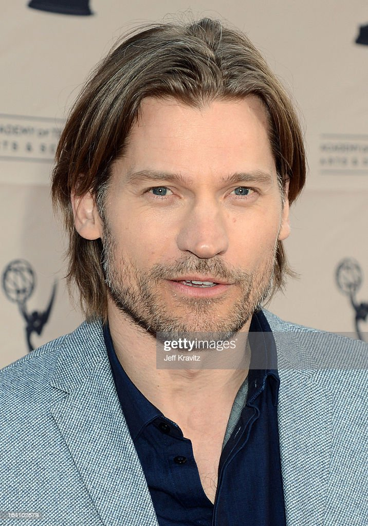 Actor Nikolaj Coster-Waldau attends the Academy of Television Arts & Sciences an evening with HBO's 'Game Of Thrones' at TCL Chinese Theatre on March 19, 2013 in Hollywood, California.