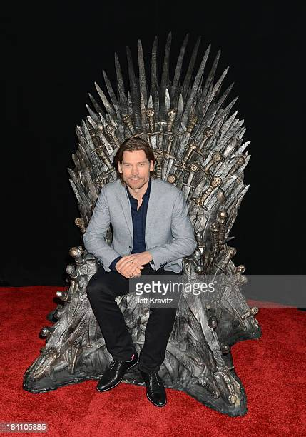 Actor Nikolaj CosterWaldau attends the Academy of Television Arts Sciences an evening with HBO's 'Game Of Thrones' at TCL Chinese Theatre on March 19...