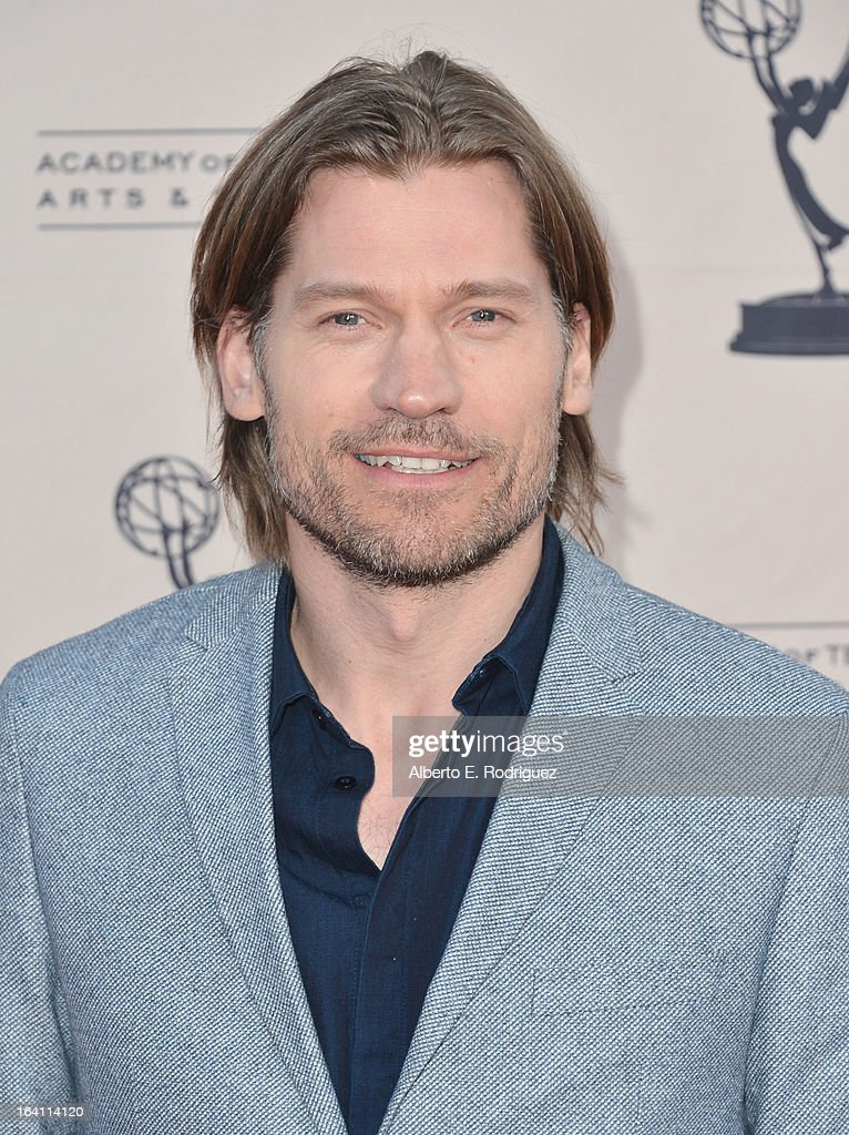 Actor Nikolaj Coster-Waldau attends The Academy of Television Arts & Sciences' Presents An Evening With 'Game of Thrones' at TCL Chinese Theatre on March 19, 2013 in Hollywood, California.