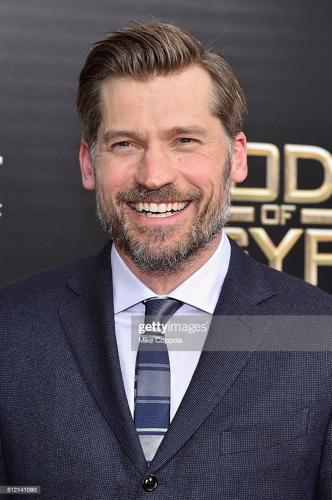 Actor Nikolaj Coster-Waldau attends the 'Gods Of Egypt' New York Premiere at AMC Loews Lincoln Square 13 on February 24, 2016 in New York City.