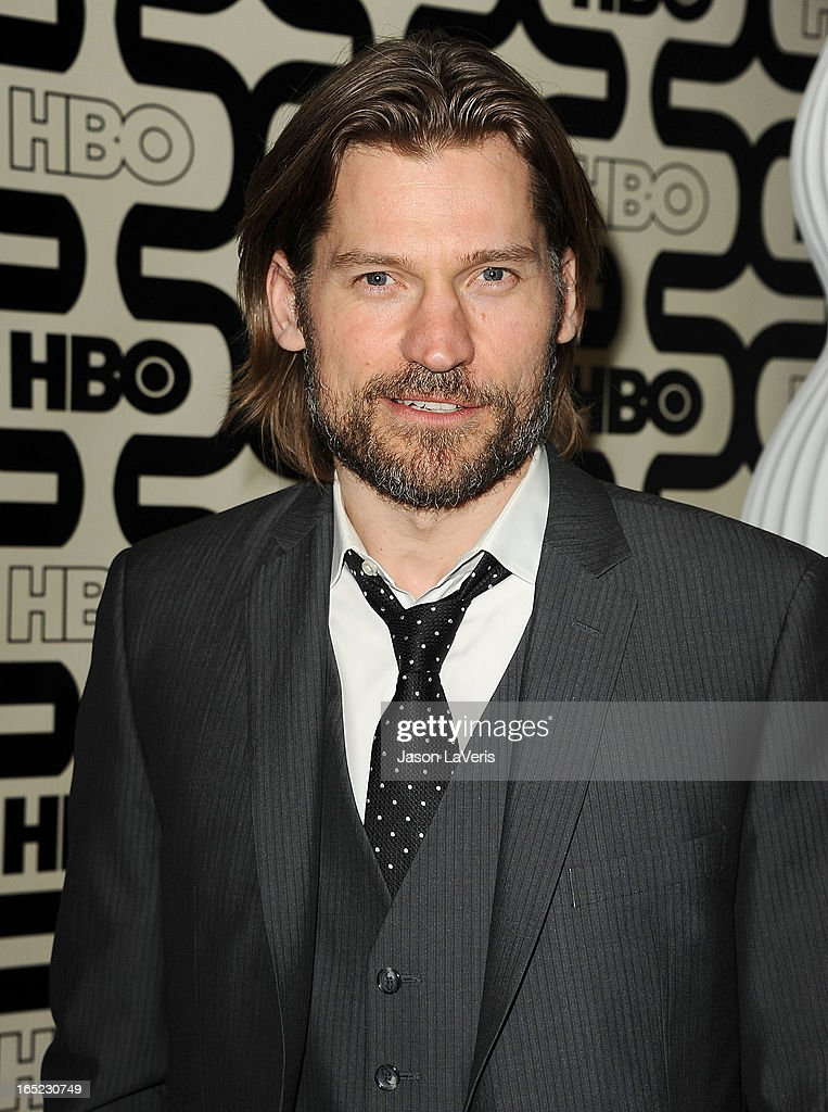 Actor Nikolaj Coster-Waldau attends the HBO after party at the 70th annual Golden Globe Awards at Circa 55 restaurant at the Beverly Hilton Hotel on January 13, 2013 in Los Angeles, California.