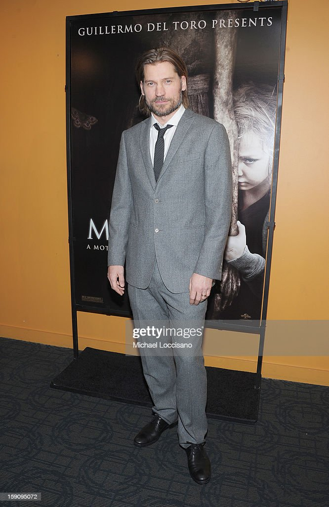 Actor Nikolaj Coster-Waldau attends the 'Mama' New York Screening at Landmark's Sunshine Cinema on January 7, 2013 in New York City.