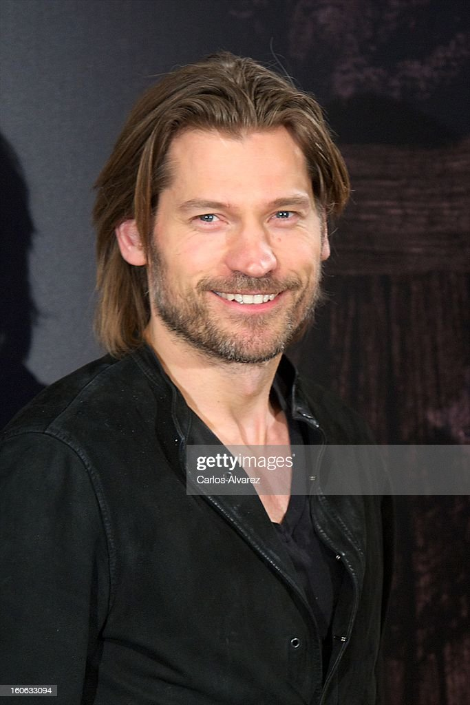 Actor Nikolaj Coster-Waldau attends the 'Mama' photocall at the on February 4, 2013 in Madrid, Spain.