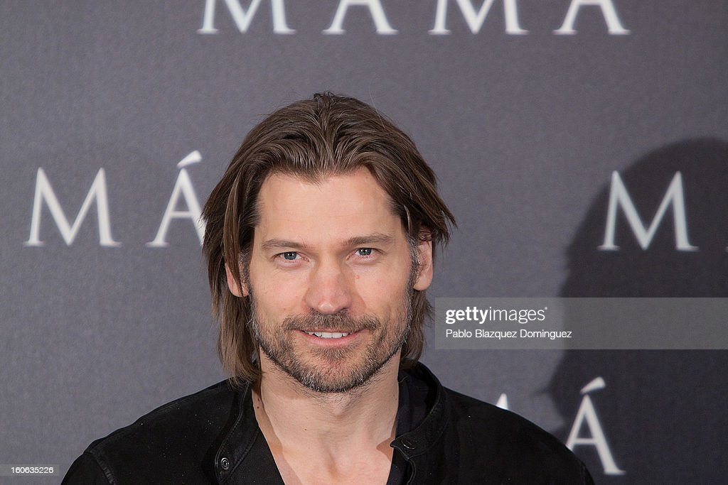 Actor Nikolaj Coster-Waldau attends the 'Mama' photocall at Villamagna Hotel on February 4, 2013 in Madrid, Spain.
