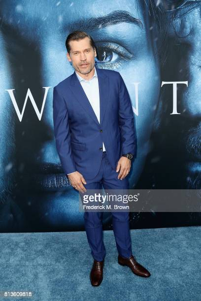 Actor Nikolaj CosterWaldau attends the premiere of HBO's 'Game Of Thrones' season 7 at Walt Disney Concert Hall on July 12 2017 in Los Angeles...