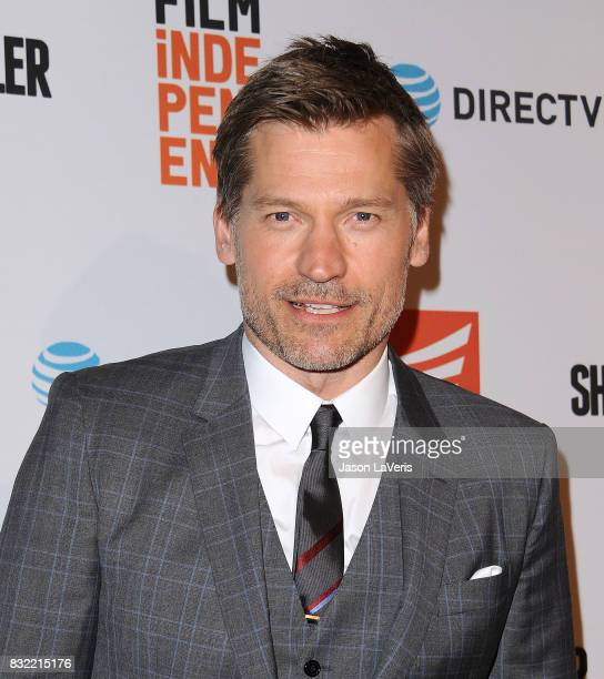 Actor Nikolaj CosterWaldau attends the premiere of 'Shot Caller' at The Theatre at Ace Hotel on August 15 2017 in Los Angeles California