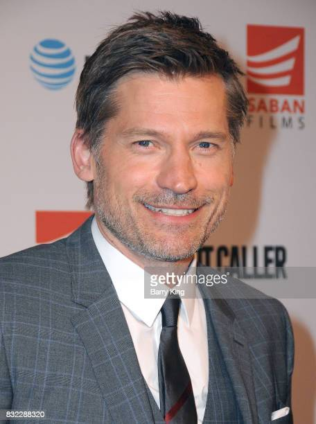 Actor Nikolaj CosterWaldau attends the screening of Saban Films and DIRECTV's' 'Shot Caller' at The Theatre at Ace Hotel on August 15 2017 in Los...