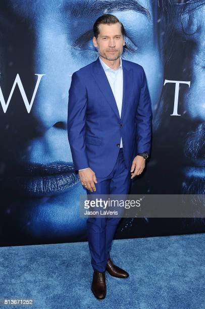 Actor Nikolaj CosterWaldau attends the season 7 premiere of 'Game Of Thrones' at Walt Disney Concert Hall on July 12 2017 in Los Angeles California