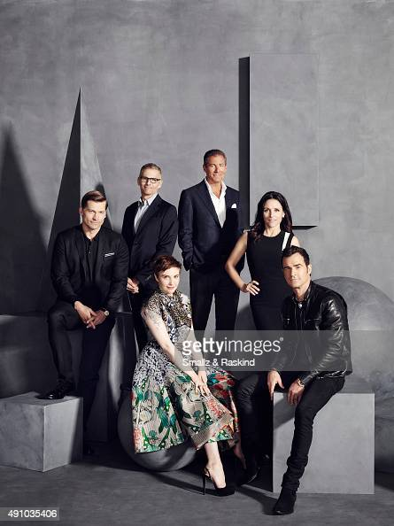 Actor Nikolaj CosterWaldau HBO's Programming Chief Michael Lombardo actress writer and director Lena Dunham HBO CEO Richard Plepler actress Julia...