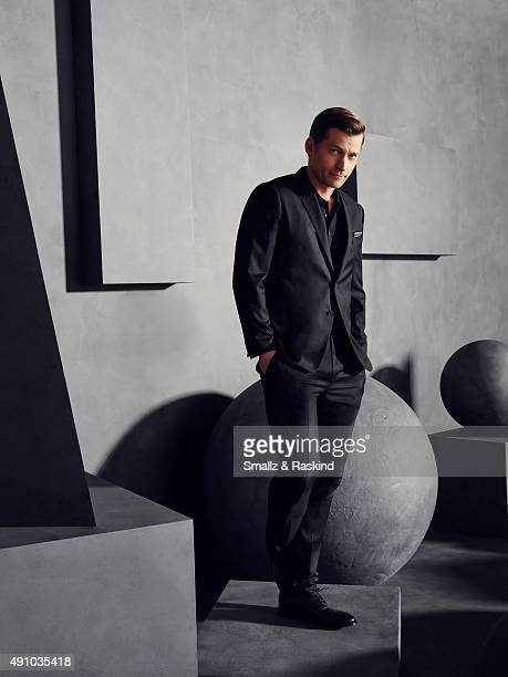 Actor Nikolaj CosterWaldau is photographed for The Hollywood Reporter on May 31 2015 in Los Angeles California